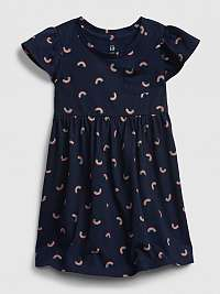 GAP modré dievčenské šaty skater dress
