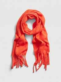 GAP oranžové dámska šál