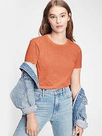 GAP oranžové dámske tričko