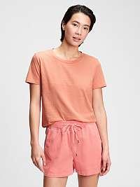 GAP oranžové dámske tričko organic vintage