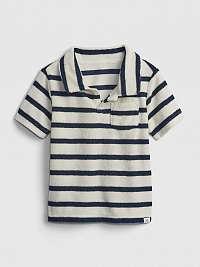 GAP Polo tričko detské Modrá Biela
