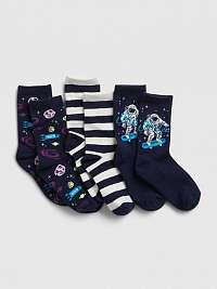 GAP Ponožky 3 páry detské Modrá