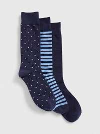 GAP Ponožky 3 páry Modrá