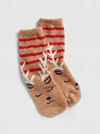 GAP Ponožky detské Hnedá