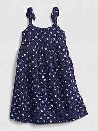 GAP Print Šaty dětské Modrá