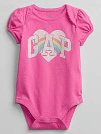 GAP ružové detské body
