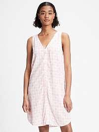 GAP ružové letné šaty so vzormi