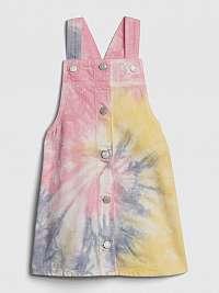 GAP Šaty s trakmi detské Ružová