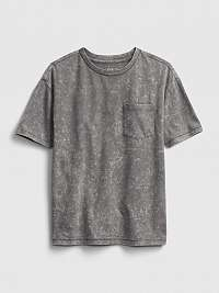 GAP sivé detské tričko tw ss tee