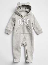 GAP sivé dětský overal Baby