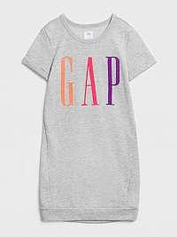 GAP sivé dievčenské šaty