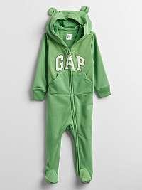 GAP zelené baby overal