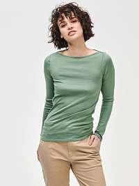 GAP zelené basic tričko