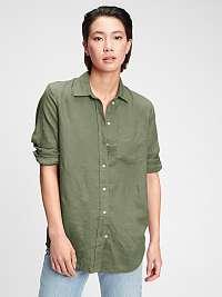 GAP zelené dámska košeľa