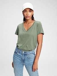 GAP zelené dámske tričko