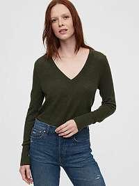 GAP zelené dámsky sveter