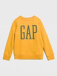 GAP žlté chlapčenská mikina
