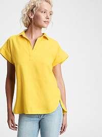 GAP žlté dámske tričko