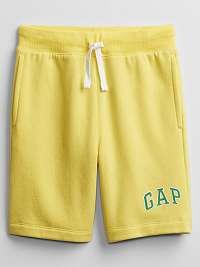 GAP žlté detské kraťasy