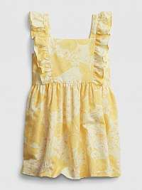 GAP žlté dievčenské šaty