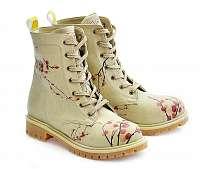Goby béžové topánky Cherry Blossom