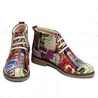 Goby farebné členkové topánky Paiting