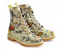 Goby farebné topánky Confused Giraffe