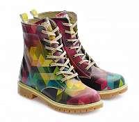 Goby farebné topánky Crazy Colors