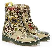 Goby farebné topánky Crazy Scull