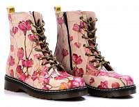 Goby ružové topánky Pink Flowers