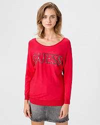 Guess červené dámsky sveter Tabitha