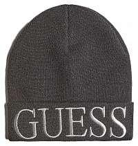Guess čierna čiapka Pull-on hat s logom
