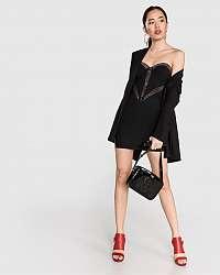 Guess čierne šaty Lucia