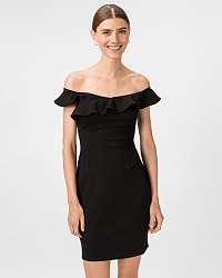Guess čierne šaty Lupe
