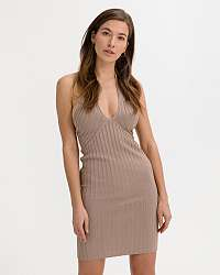 Guess hnedé šaty Addy