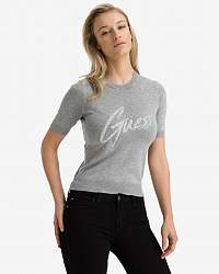 Guess sivé tričko Deborah