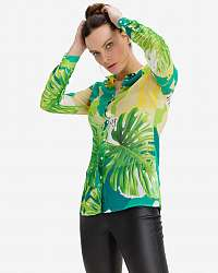 Guess zelené dámska košeľa Clouis