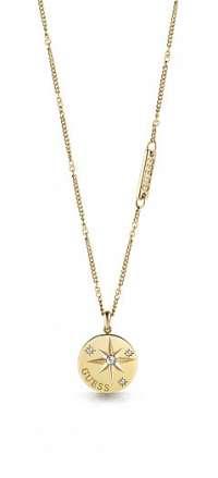 Guess zlaté náhrdelník Wanderlust