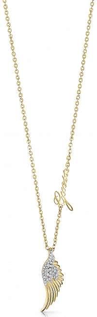 Guess zlatý náhrdelník Fly With Me