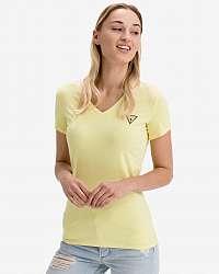 Guess žlté tričko Mini Triangle