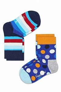 Happy Socks farebná sada detských ponožiek