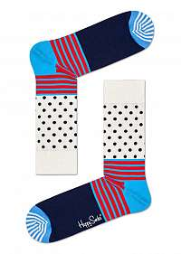 Happy Socks farebné ponožky Stripe And Dot