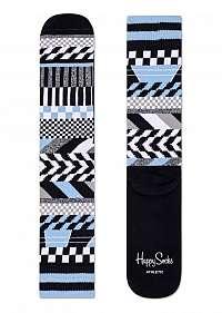 Happy Socks ponožky Athletic Checked Stripe
