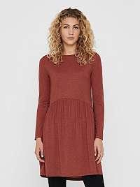 Hnedé šaty Jacqueline de Yong