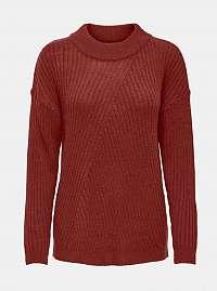 Hnedý sveter Jacqueline de Yong Zofry