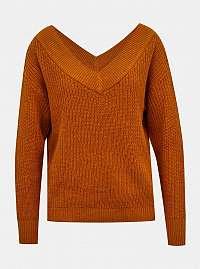 Hnedý sveter ONLY Melton