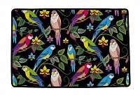 Home farebný koberec s andulkami Butter Kings Show Me Your Colours