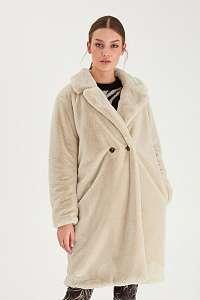 Ichi béžové zimné kabát Ihhaya JA Tapioca