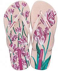 Ipanema púdrové žabky Botanicals Fem Pink -