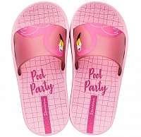 Ipanema ružové dievčenské šľapky Urban Slide Kids Pink